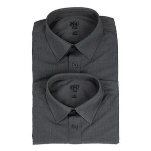 1880 Club Senior Boys School Shirt Tow Pack Grey