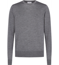 Load image into Gallery viewer, Calvin Klein Superior Wool Crew Mid Grey