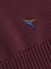 Load image into Gallery viewer, Drifter Crew Neck Jumper Burgundy