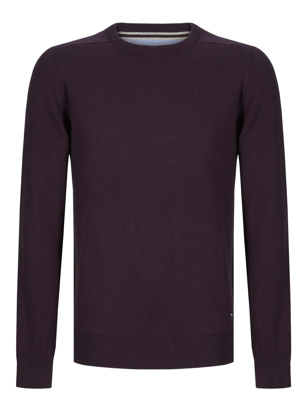 Drifter Crew Neck Jumper Purple