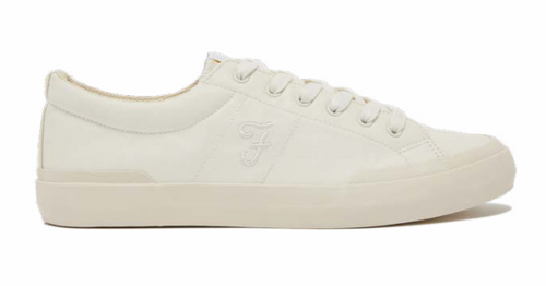 Farah Dallas Vulcanised Sneakers White