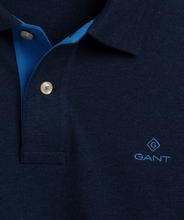 Load image into Gallery viewer, GANT Contrast Collar Long Sleeve Polo