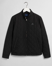 Load image into Gallery viewer, GANT Quilted Windcheater Black