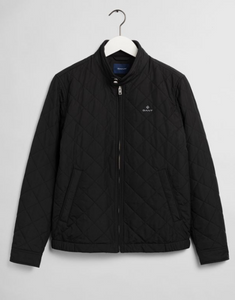 GANT Quilted Windcheater Black