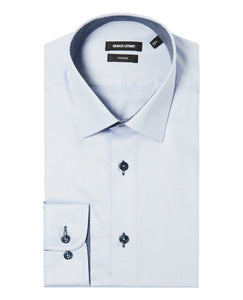 Remus Uomo Seville Tapered Fit Formal Shirt Blue