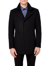 Load image into Gallery viewer, Remus Uomo Lohman Overcoat Black