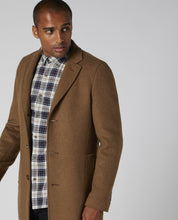Load image into Gallery viewer, Remus Uomo Raeburn Overcoat Tan