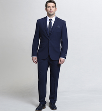 Load image into Gallery viewer, Magee Finn Three Piece Suit Navy