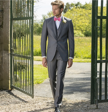 Load image into Gallery viewer, Magee Wool Suit Grey