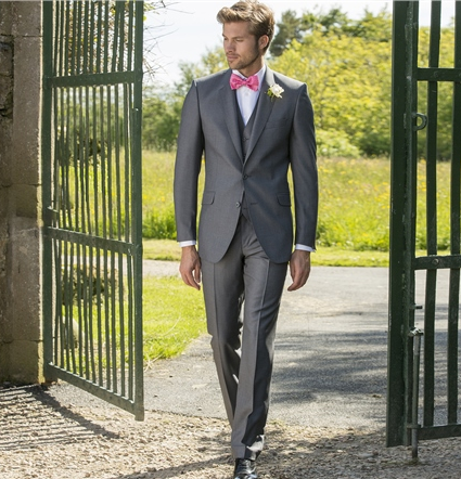 Magee Wool Suit Grey