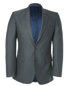 Magee Wool Suit Jacket Grey