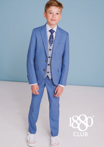 1880 Club Boy's blue suit