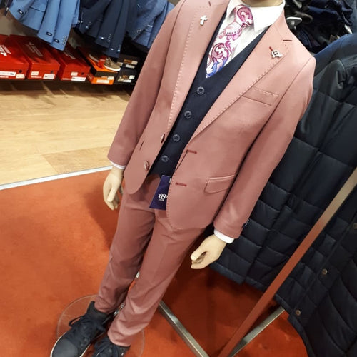 1880 Club Boy's Pink Suit