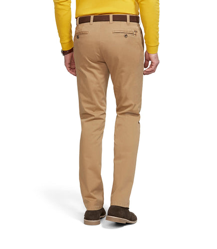 Meyer Oslo Travel Trousers Tan