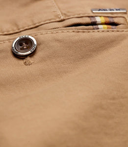 Meyer Oslo Camel Chino Button