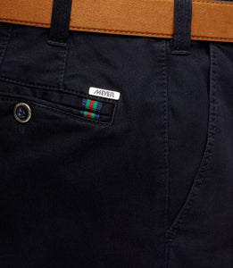 Meyer Oslo Navy Chino Close