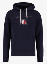 Load image into Gallery viewer, GANT Shield Sweat Hoodie Evening Blue