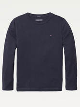 Load image into Gallery viewer, Tommy Hilfiger Kids Basic Long Sleeve Tee Sky Captain