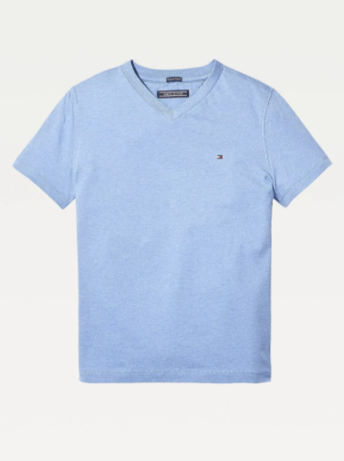 Tommy Hilfiger Kids Basic VN Tee Light Blue