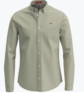 Tommy Jeans Lightweight Twill Shirt Bay Laurel