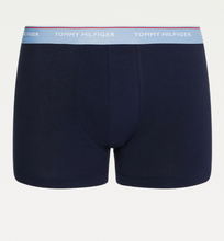 Load image into Gallery viewer, Tommy Hilfiger 3 Pack Trunks Navy