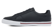 Load image into Gallery viewer, Tommy Hilfiger Core Corporate Leather Sneaker Desert Sky