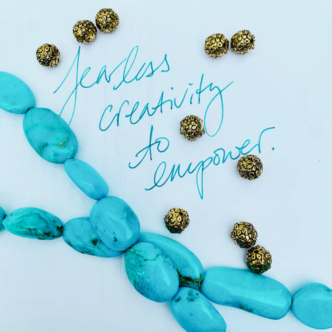 Fearless creativity to empower