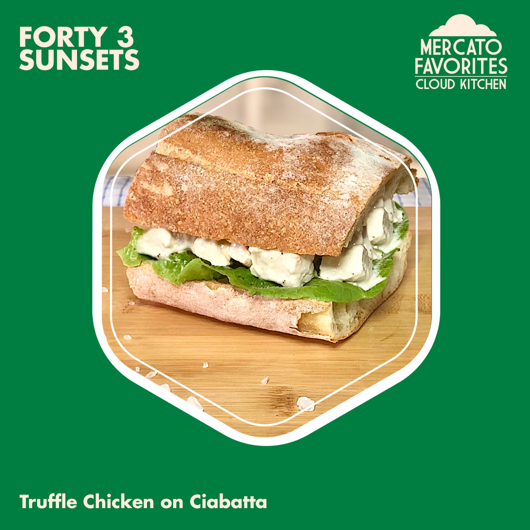 Truffle Chicken on Ciabatta