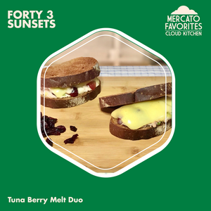Tuna Berry Melt Duo