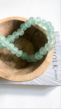 Load image into Gallery viewer, Aqua Glass Bead Garland