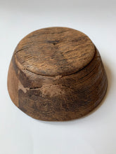 Load image into Gallery viewer, Mini Vintage Wooden Bowl