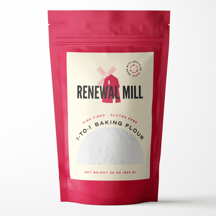 Renewal Mill Launches Upcycled 1-to-1 Gluten-Free Baking Flour at Winter Fancy Food Show 2020, Booth #3339
