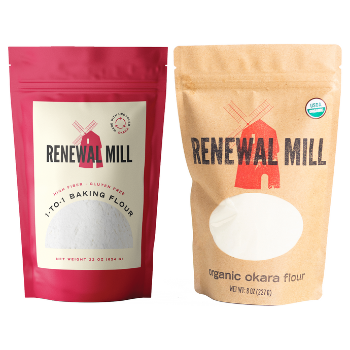 Renewal Mill's Upcycled Flours Launch in Whole Foods