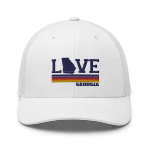 Love GA Retro Trucker Cap