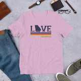 Retro LoveGA Unisex T-Shirt