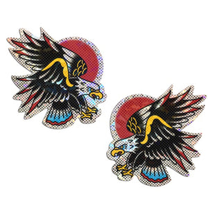Eagle: Glittering Freedom Eagle Diamond Thom™ Nipple Pasties by Pastease® o/s