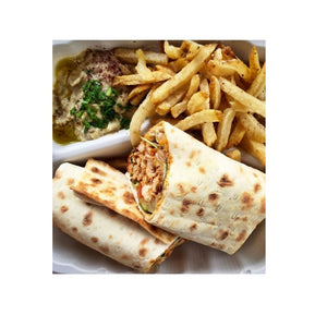 "Foodservice Traditional Lavash 12"" x 14"" (60 Sheets Bulk)"