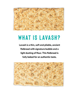 Cauliflower & Coconut Mini Lavash Flatbread (4 packs of 6 Sheets)