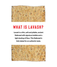 Load image into Gallery viewer, Mini Lavash Flatbread with Whole Grain & Flax (4 Packs of 8 Sheets)