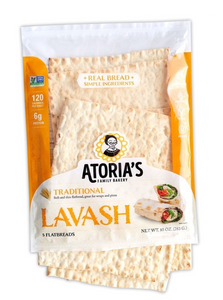 Traditional Lavash Flatbread