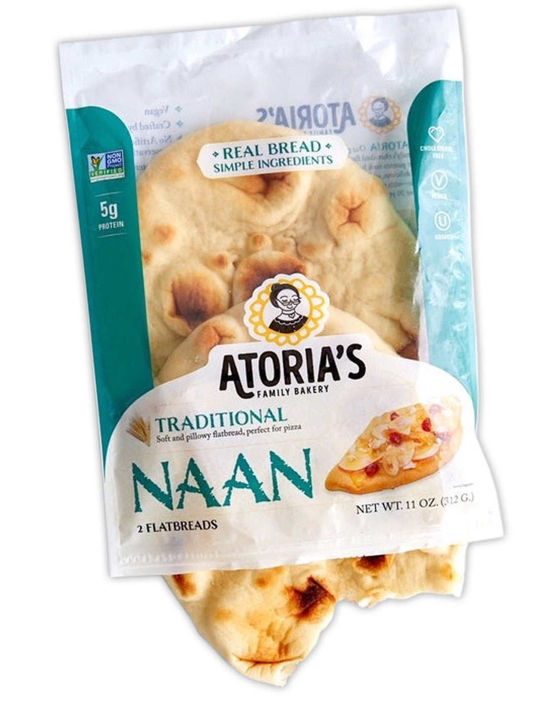 Traditional Naan Flatbread