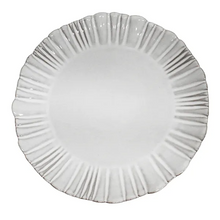 Load image into Gallery viewer, Iris Fluted Dinner Plate