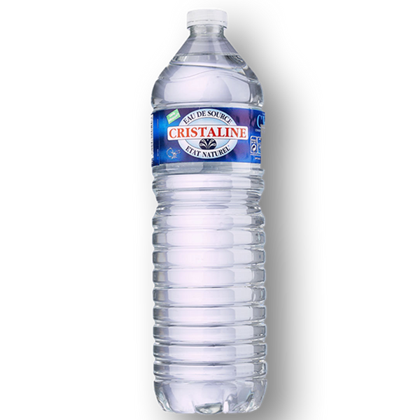 Cristaline Still Water - 1.5 Litre Bottle - Pack of 6