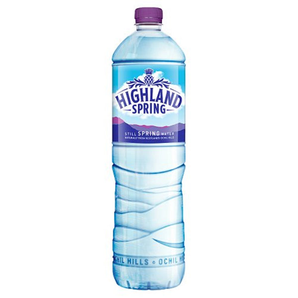 Highland Spring Still Water - 1.5 Litre Bottle - Pack of 12