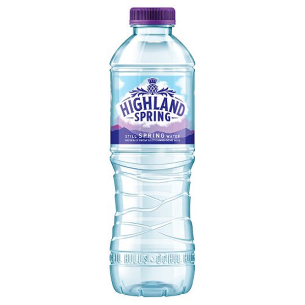 Highland Spring Still Water - 500ml Bottle - Pack of 24