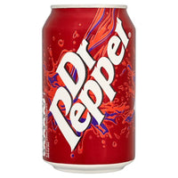 Dr Pepper - 330ml Can - Pack of 24