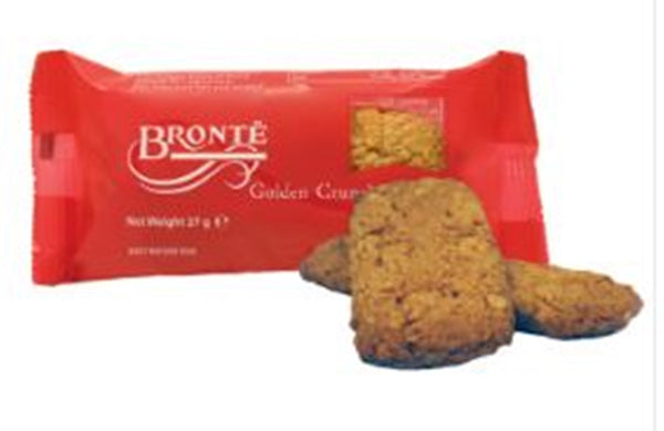 Patersons Bronte Mini Golden Crunch - 27g biscuit pack- Pack of 100