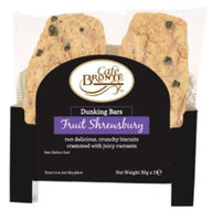 Patersons Cafe Bronte Fruit Shrewsbury Dunker Biscuit - 2 x 30g - Pack of 24