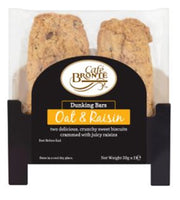Patersons Cafe Bronte Oat & Raisin Dunker Biscuit - 2 x 30g - Pack of 24