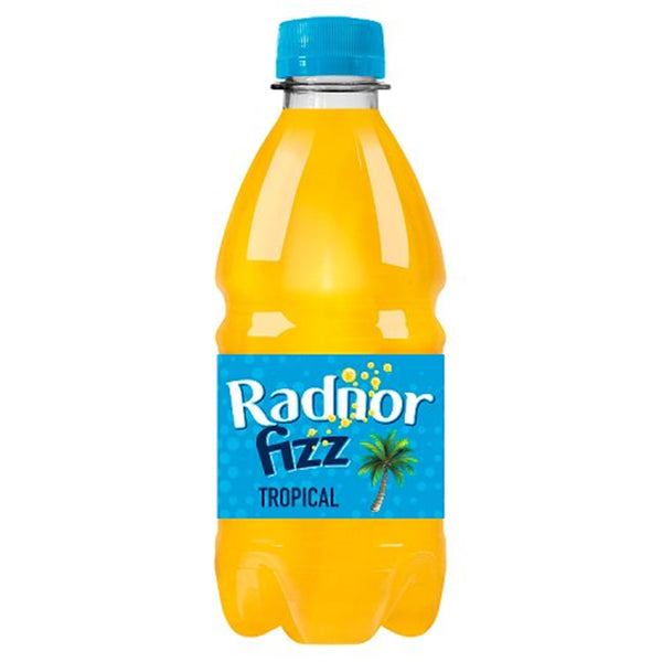 Radnor Fizz Tropical Drink - 330ml Bottle - Pack of 24 (School Approved)